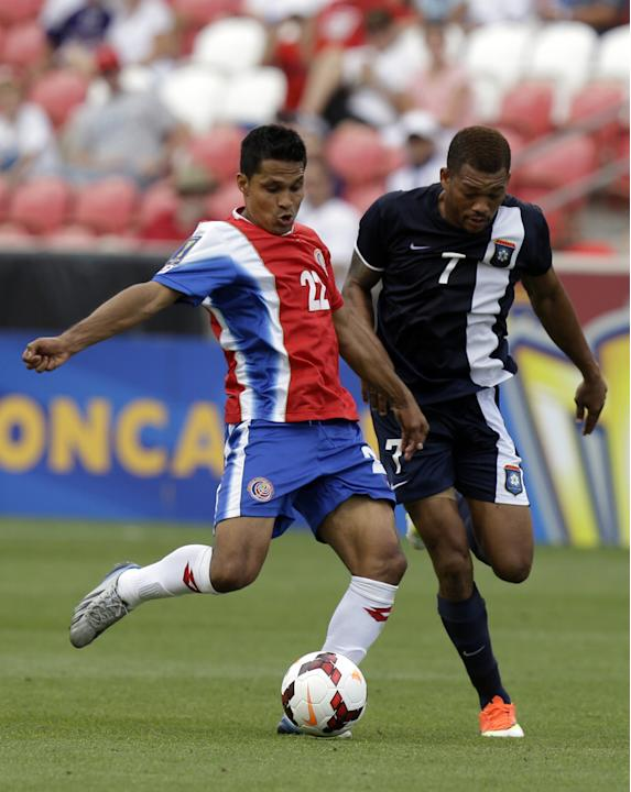 Gold Cup Belize Costa Rica Soccer