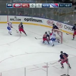 Henrik Lundqvist Save on Tomas Plekanec (13:26/1st)