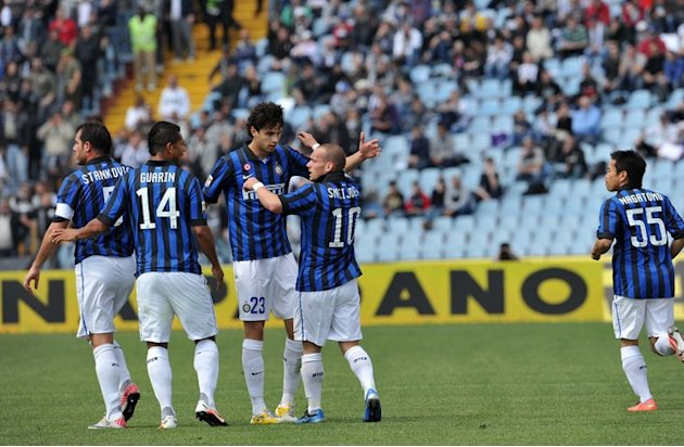 Inter's Players AFP/Getty Images