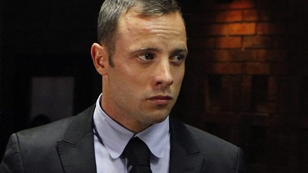 Oscar Pistorius stands in the dock (Reuters)