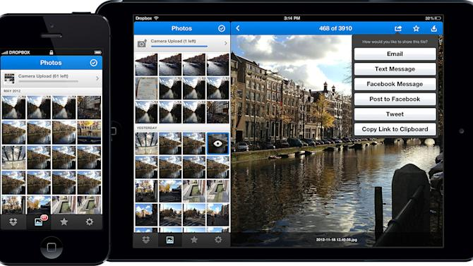 Dropbox for iOS Gets a New Coat of Paint