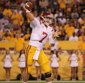 USC Trojans Matt Barkley in 2011