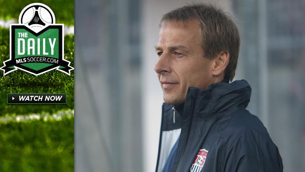 The Daily 5/17 - Klinsmann names USMNT roster, Weekend Preview, Forlan to MLS?