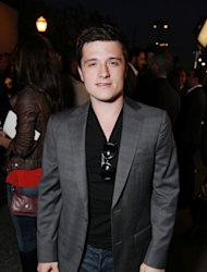 Josh Hutcherson is spotted at the LA Family Housing Awards 2012 at The Lot in West Hollywood, Calif. on April 19, 2012 -- WireImage
