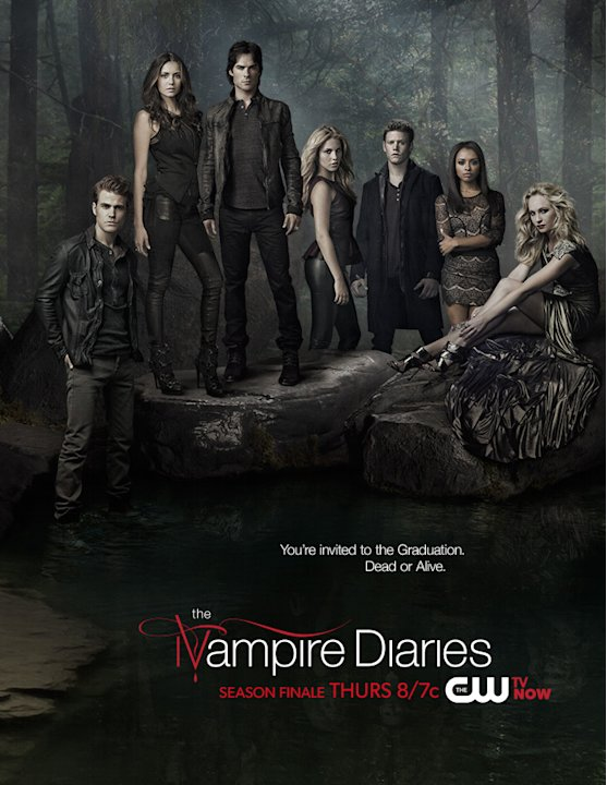 """The Vampire Diaries"" Season Finale Poster"