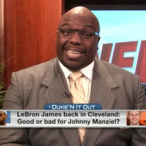Is LeBron in Cleveland good or bad for Johnny Manziel?