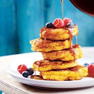 Pancake recipes: Cinnamon-pumpkin pancakes