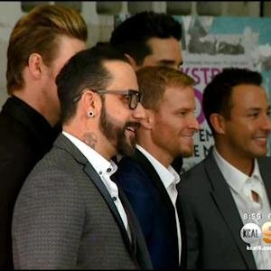 Backstreet Boys Get Together To Launch Film
