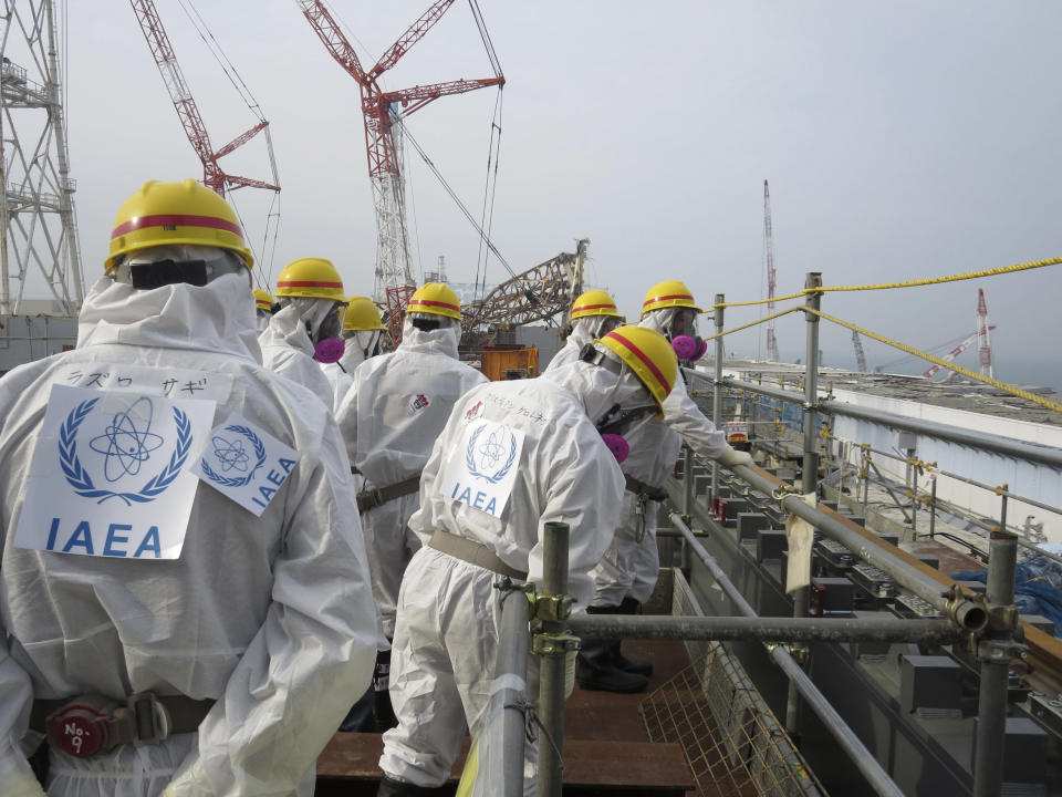 IAEA inspects Japan's crippled nuclear plant
