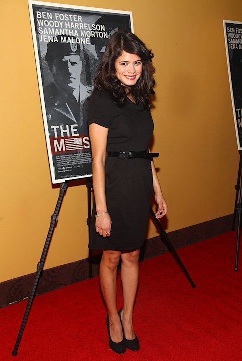 The Messenger NY premiere 2009 Melonie Diaz