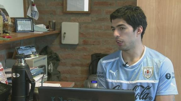 Exclusive interview with Liverpool's Luis Suarez