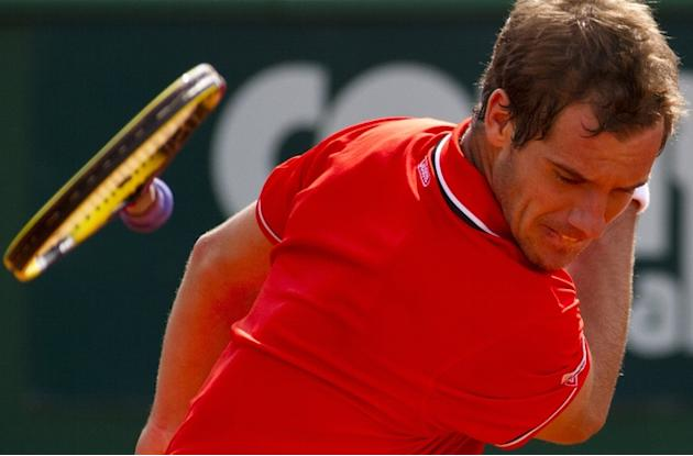 France's Richard Gasquet Returns AFP/Getty Images