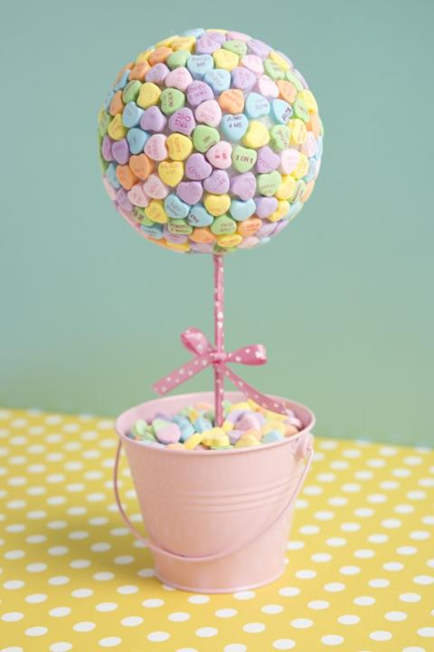 Candy Heart Topiary