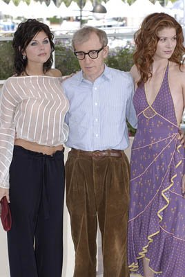 Tiffani Thiessen, Woody Allen and Debra Messing