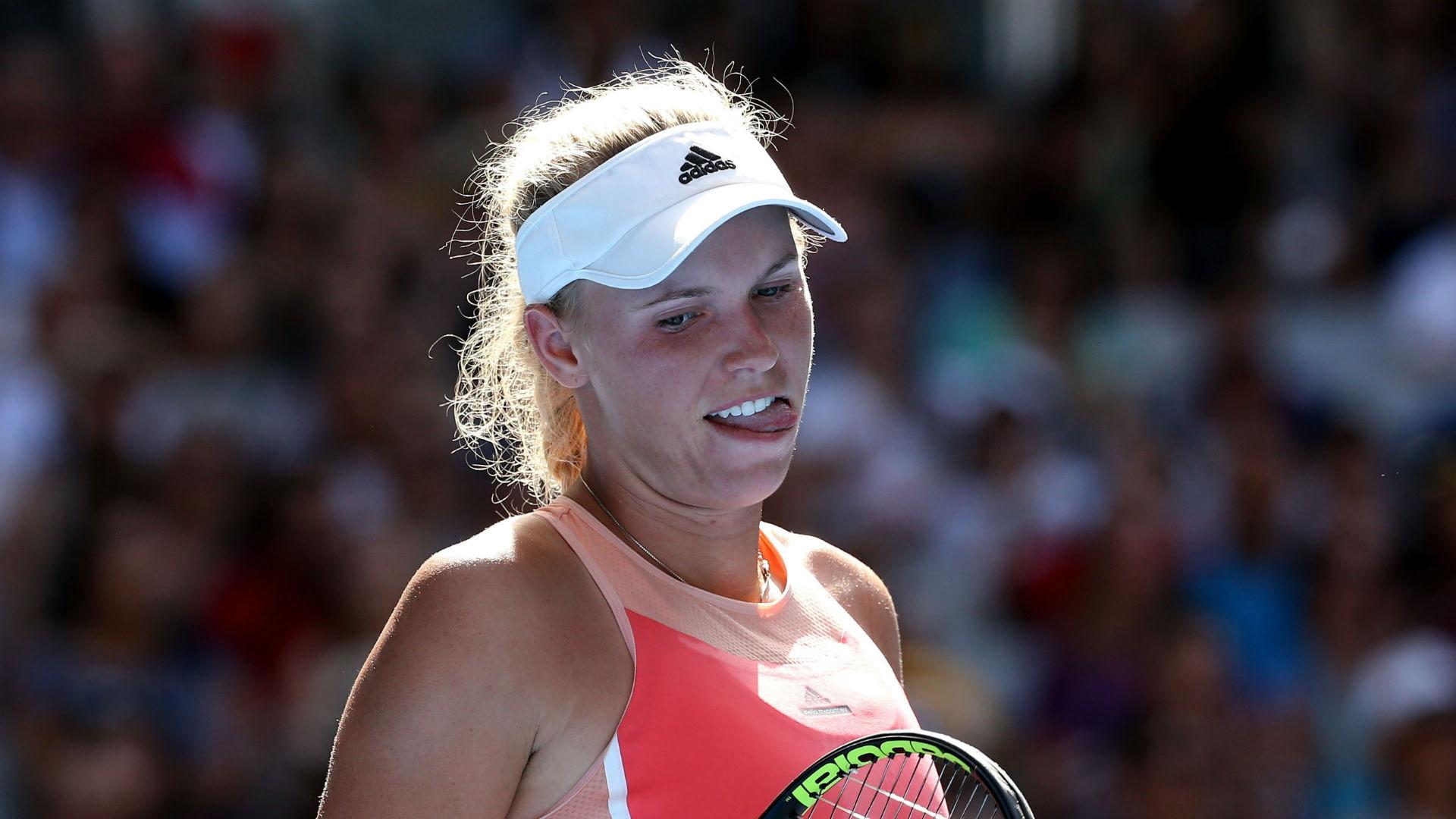 More woe for Wozniacki, Bencic bests Beck
