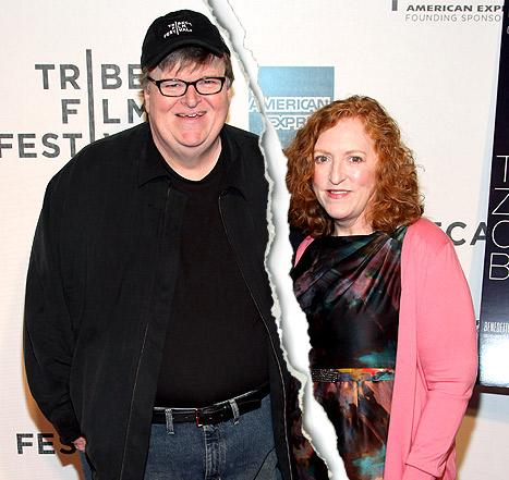 Michael Moore, Wife Kathleen Glynn Divorcing After 21 Years