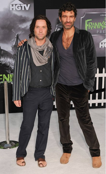 Rufus Wainwright and  Jorn WeisbrodtDisney's 'Frankenweenie' premiere at the El Capitan Theatre Hollywood, California - 24.09.12Mandatory Credit:Daniel Tanner/ WENN.com