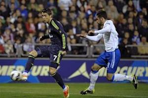 Zaragoza 1-1 Real Madrid: Ronaldo saves Blancos from defeat at La Romareda