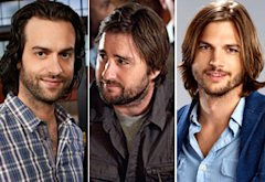 Chris D'Elia, Luke Wilson, Ashton Kutcher | Photo Credits: Mitchell Haaseth/NBC; HBO; CBS