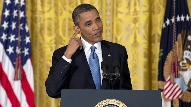 THE RESET: Obama: voters would blame both parties