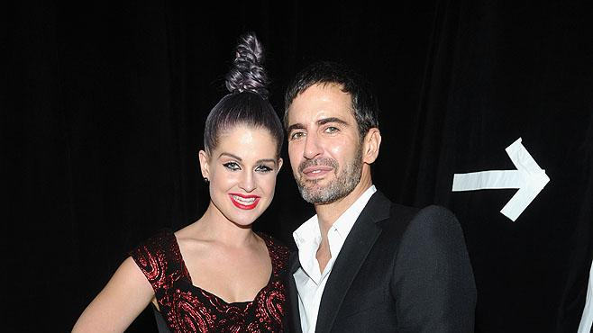 Marc Jacobs, Kelly Osbourne