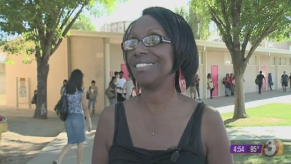 Student has perfect attendance for 13 years!