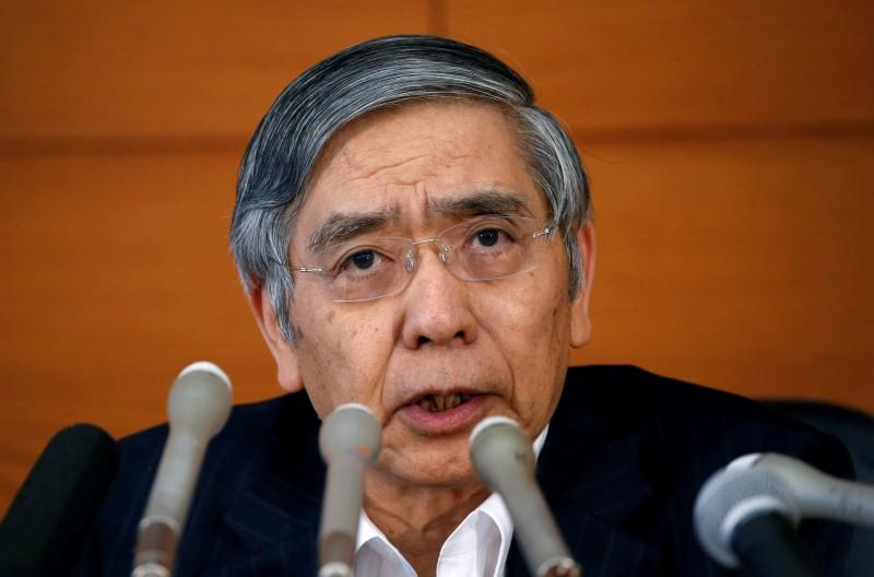 BOJ will act 'without hesitation' to revive inflation - Kuroda