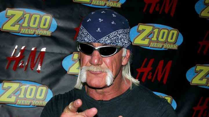 Hulk Hogan at Z100's Jingle Ball 2006.