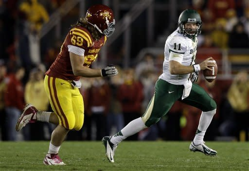 Jantz leads Iowa State over Baylor 35-21