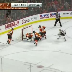 Steve Mason Save on Kris Versteeg (08:11/2nd)