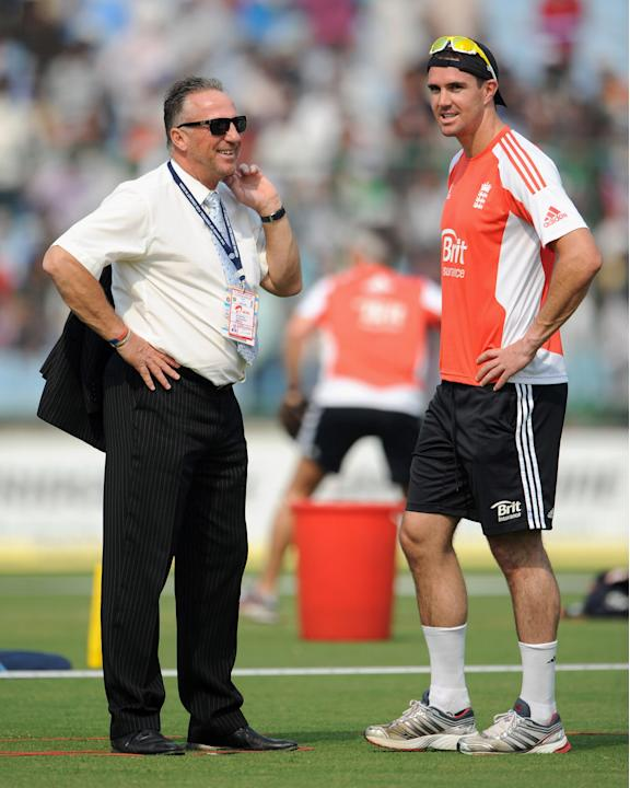 Ian Botham and Kevin Pietersen