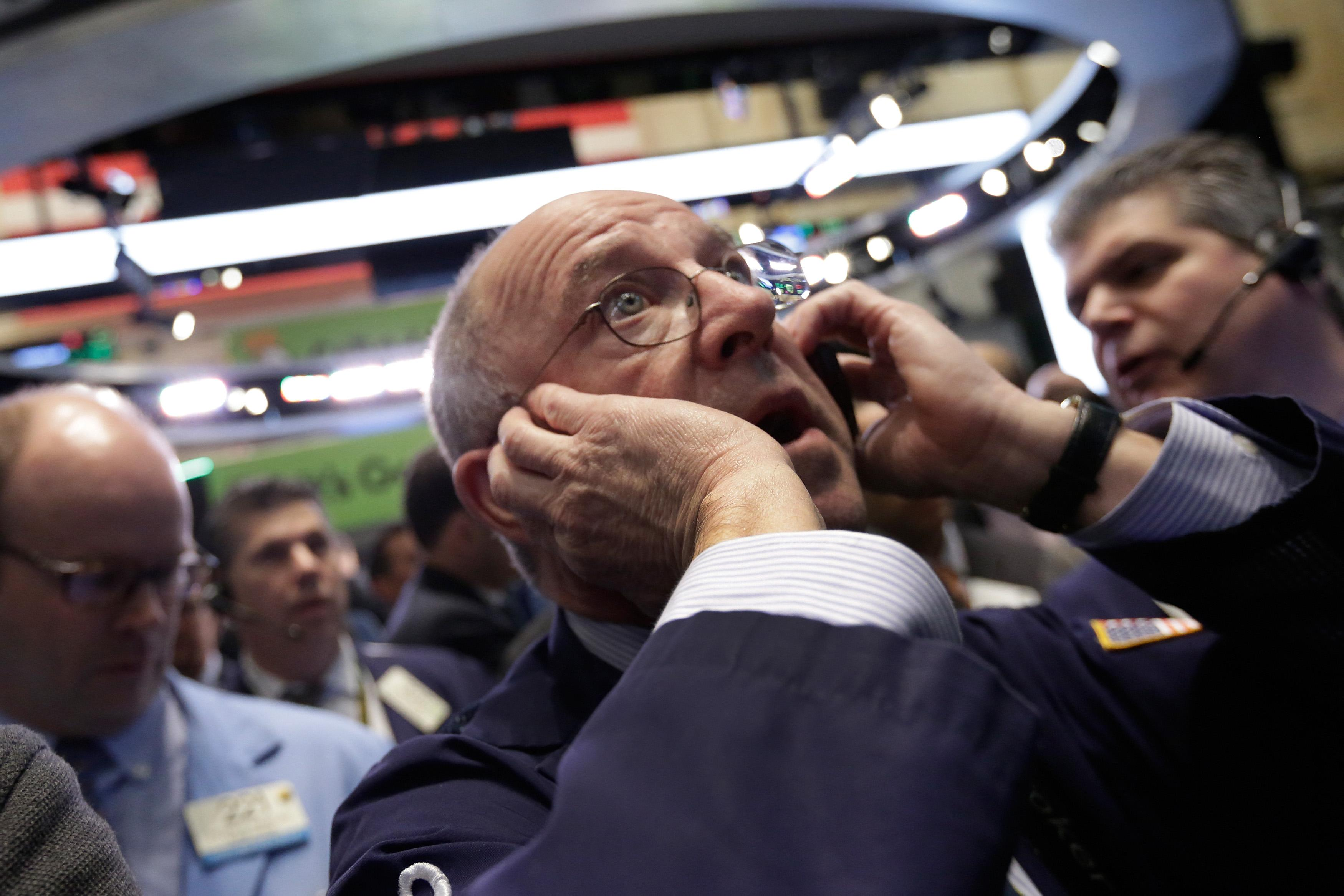 US stocks ease for a second day; price of crude oil soars