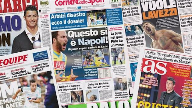Serie A - Euro Papers: PSG stars linked with Inter