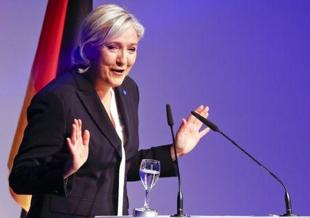 French far-right's Le Pen says Brexit will have domino effect
