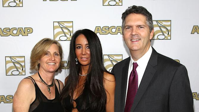 ASCAP Vice President, Membership - Pop/Rock Sue Drew, songwriter Antonina Armato and ASCAP EVP of Membership Randy Grimmett arrive at the 30th Annual ASCAP Pop Music Awards, on Wednesday, April 16, 2013, at Loews Hollywood Hotel in Hollywood, California. (Photo by Brian Dowling/Invision for ASCAP/AP Images)