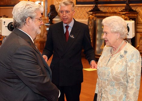 George Lucas meets the Queen