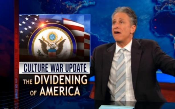 Jon Stewart Doesn't Get Why Atheists Oppose '9/11 Cross'