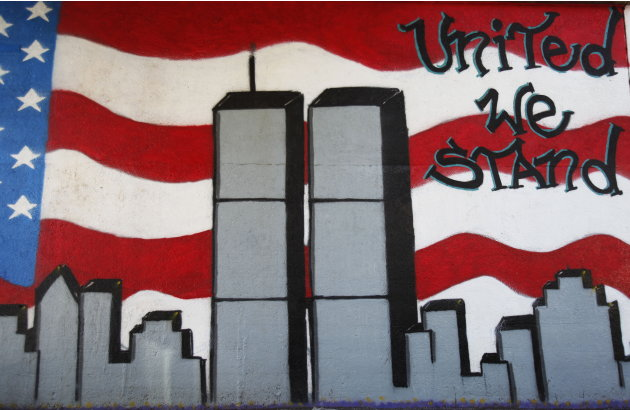 9/11 mural