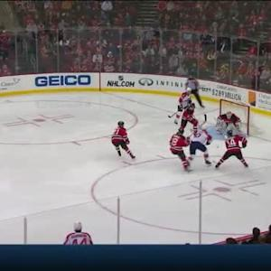Keith Kinkaid Save on Sean Bergenheim (01:08/2nd)