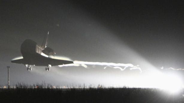 Space Shuttle Endeavour Lands Safely for Final Time