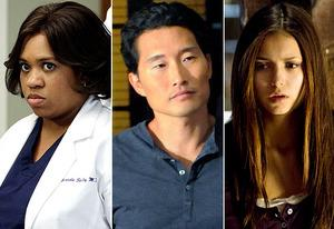 Chandra Wilson, Daniel Dae Kim, Nina Dobrev | Photo Credits: Ron Tom/ABC; Norman Shapiro/CBS; Bob Mahoney/The CW