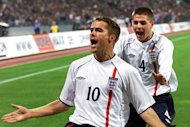 Michael Owen won 89 caps for England