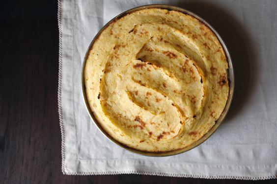 Vegan Lentil Shepherd's Pie with Parsnip and Potato Mash