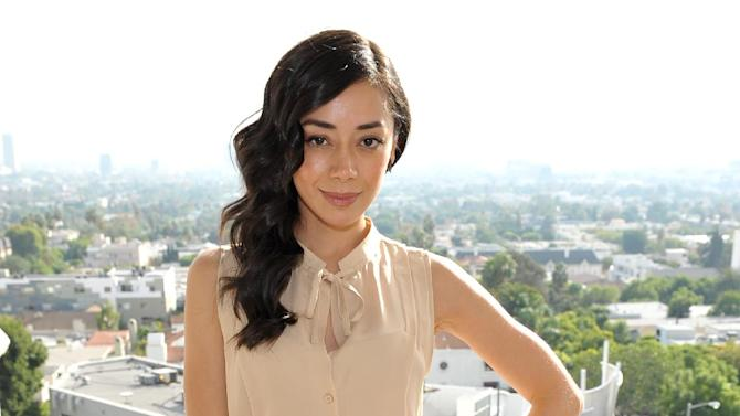 Aimee Garcia is seen at the The Hollywood Reporter's Beauty Luncheon held at the Chateau Marmont on Wednesday Nov. 14, 2012 in Los Angeles. (Photo by John Shearer/Invision for THR/AP Images)