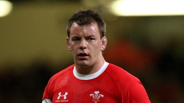 Rugby Union - Invesco Perpetual Series 2009 - Wales v New Zealand - Millennium Stadium - Matthew Rees, November 2009