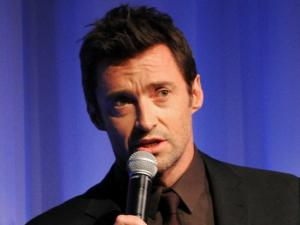 Hugh Jackman is So Committed to Entertaining That He Spent the Weekend in Iowa