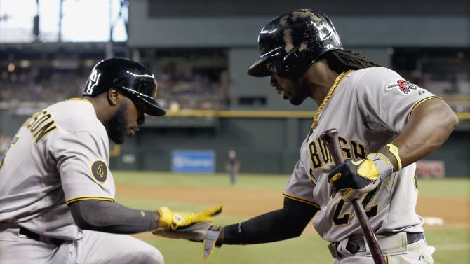 McCutchen gets key hit, then hit, Bucs top D-backs