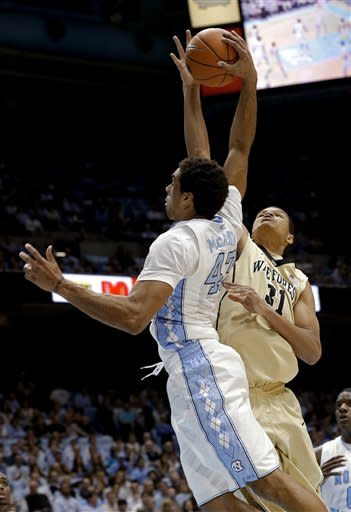 North Carolina beats Wake Forest 87-62