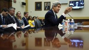 Kerry testifies on agreements over Iran's nuclear programs, before the House Foreign Affairs Committee on Capitol Hill in Washington