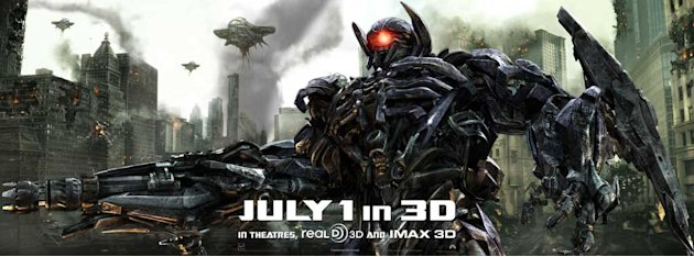 Transformers Dark of the Moon 2011 Banner